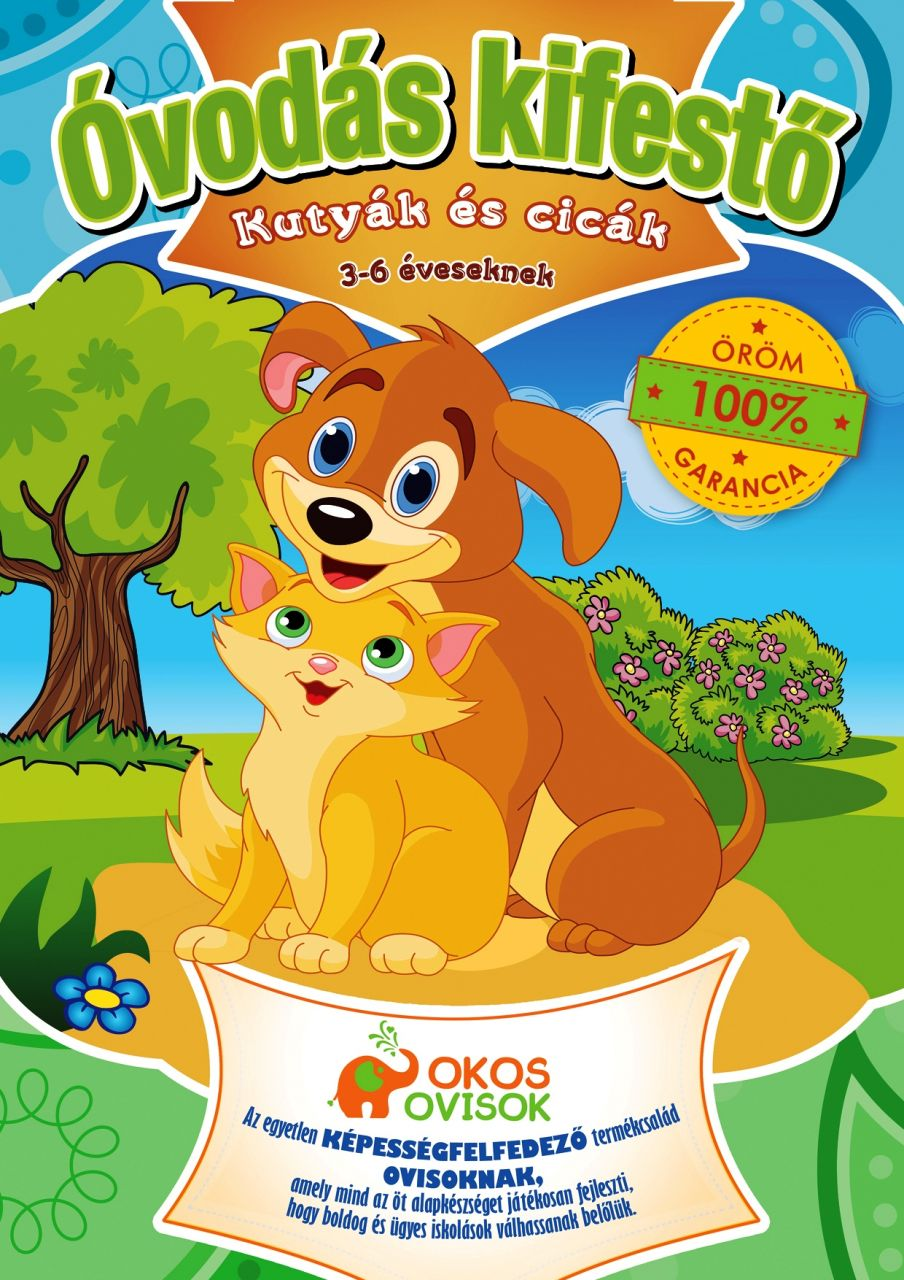 Ovis kifestő – Kutyák és cicák