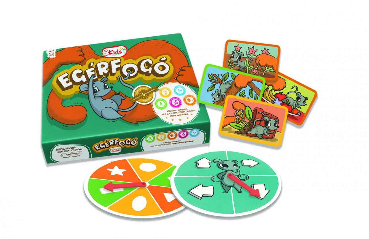 Egérfogó – készség- és képességfejlesztő társasjáték
