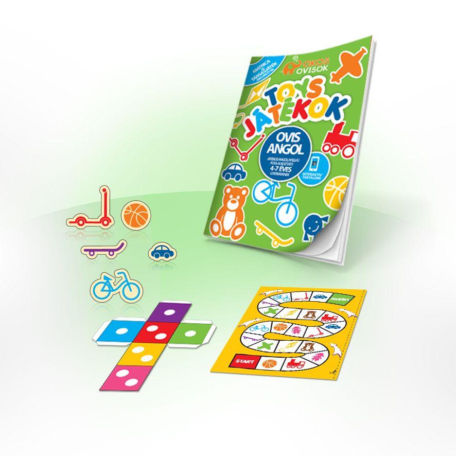 Játékok – foglalkoztató füzet