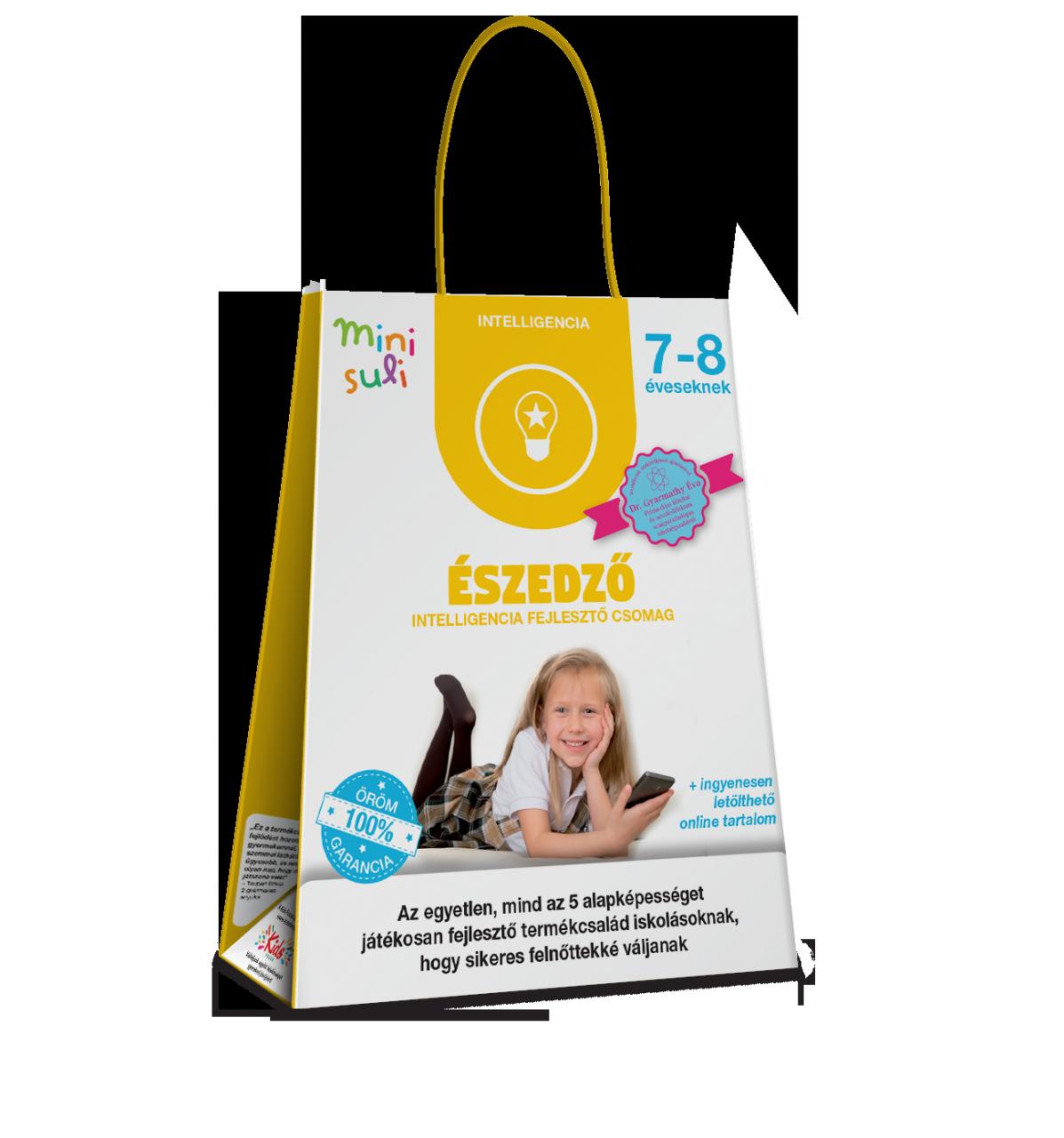 Észedző – intelligencia fejlesztő csomag 7–8 éveseknek