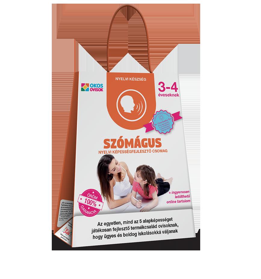 Szómágus – nyelvi képességfejlesztő csomag 3–4 éveseknek