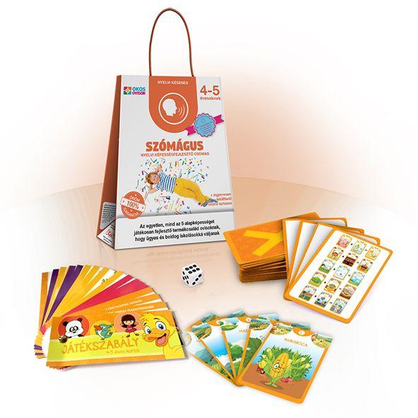Szómágus – nyelvi képességfejlesztő csomag 4–5 éveseknek