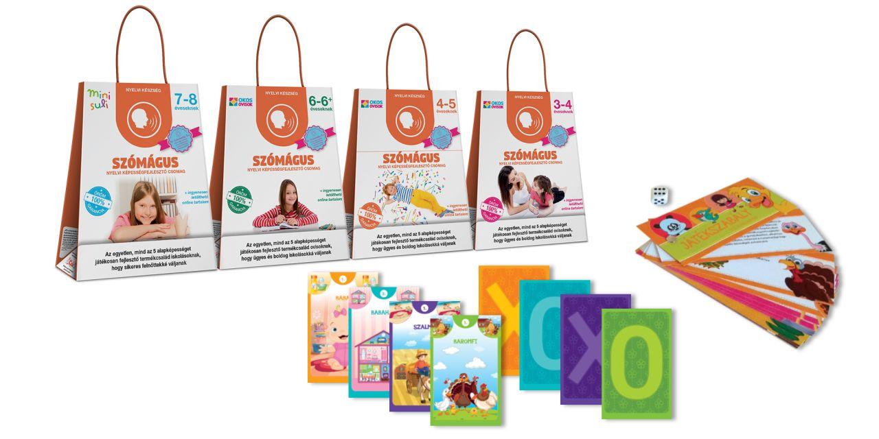 Szómágus – nyelvi képességfejlesztő csomag 6–6+ éveseknek