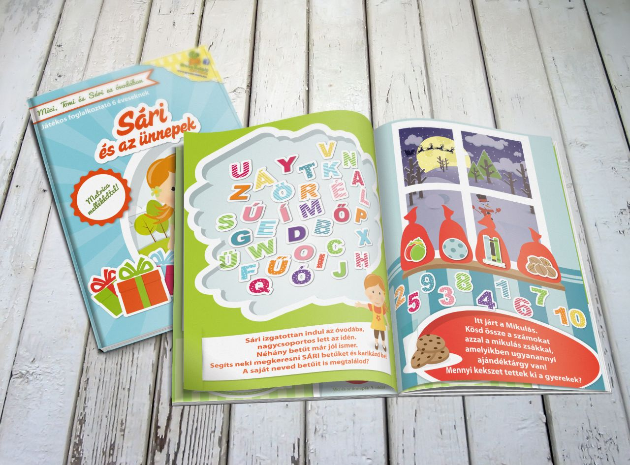 Sári és az ünnepek - Foglalkoztató füzet