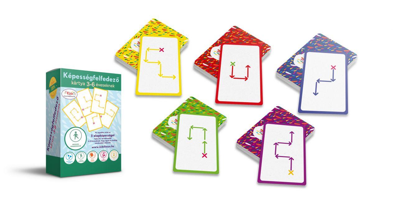 Képességfelfedező kártya 3-6 éveseknek MOZGÁS-KOORDINÁCIÓ