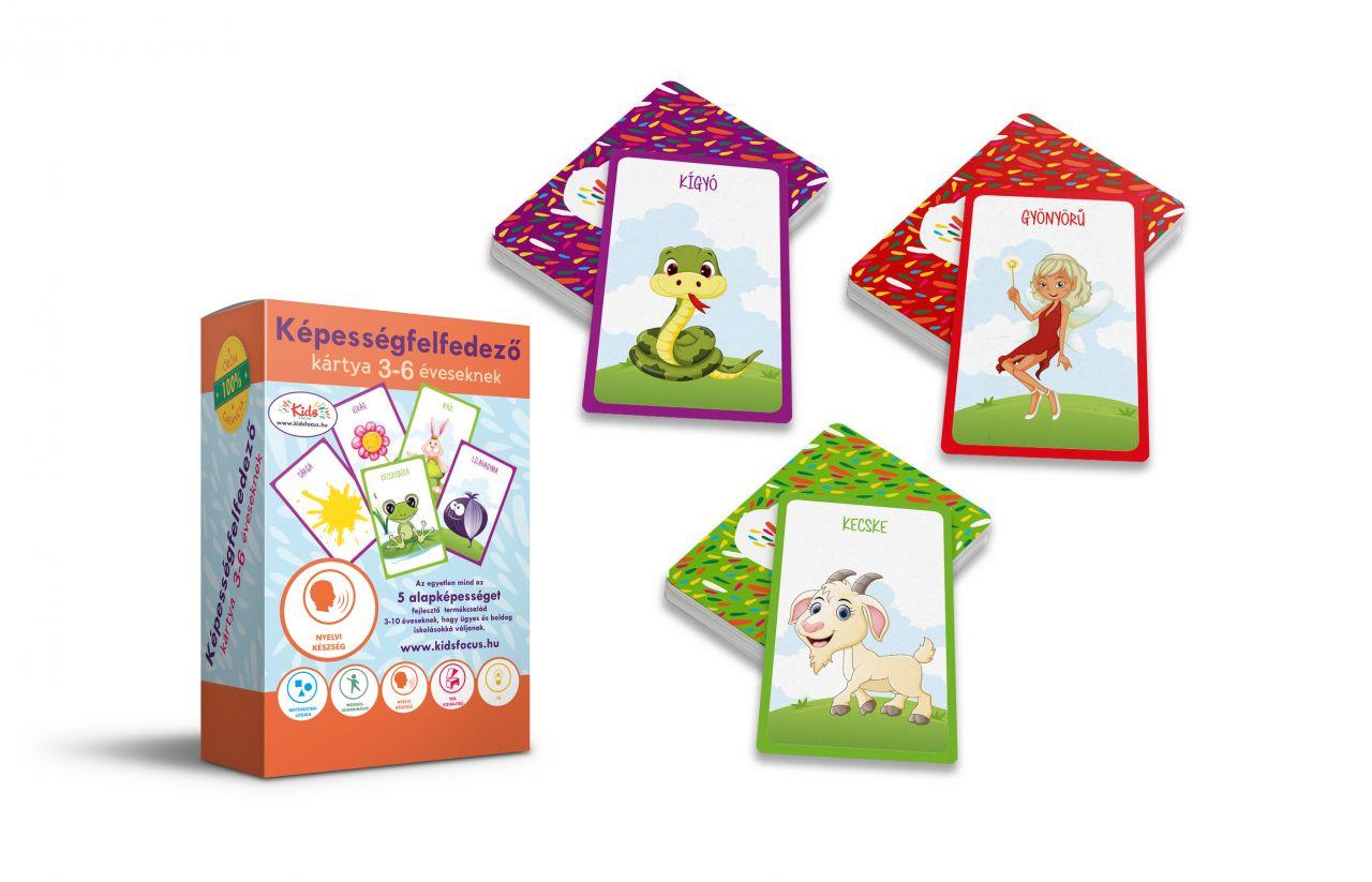 Képességfelfedező kártya 3-6 éveseknek BESZÉD