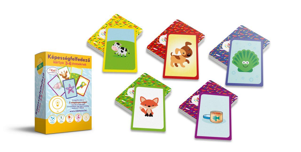 Képességfelfedező kártya 3-6 éveseknek IQ