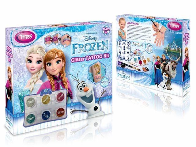 Disney Jégvarázs Maxi Kit Csillámtetoválás Szett
