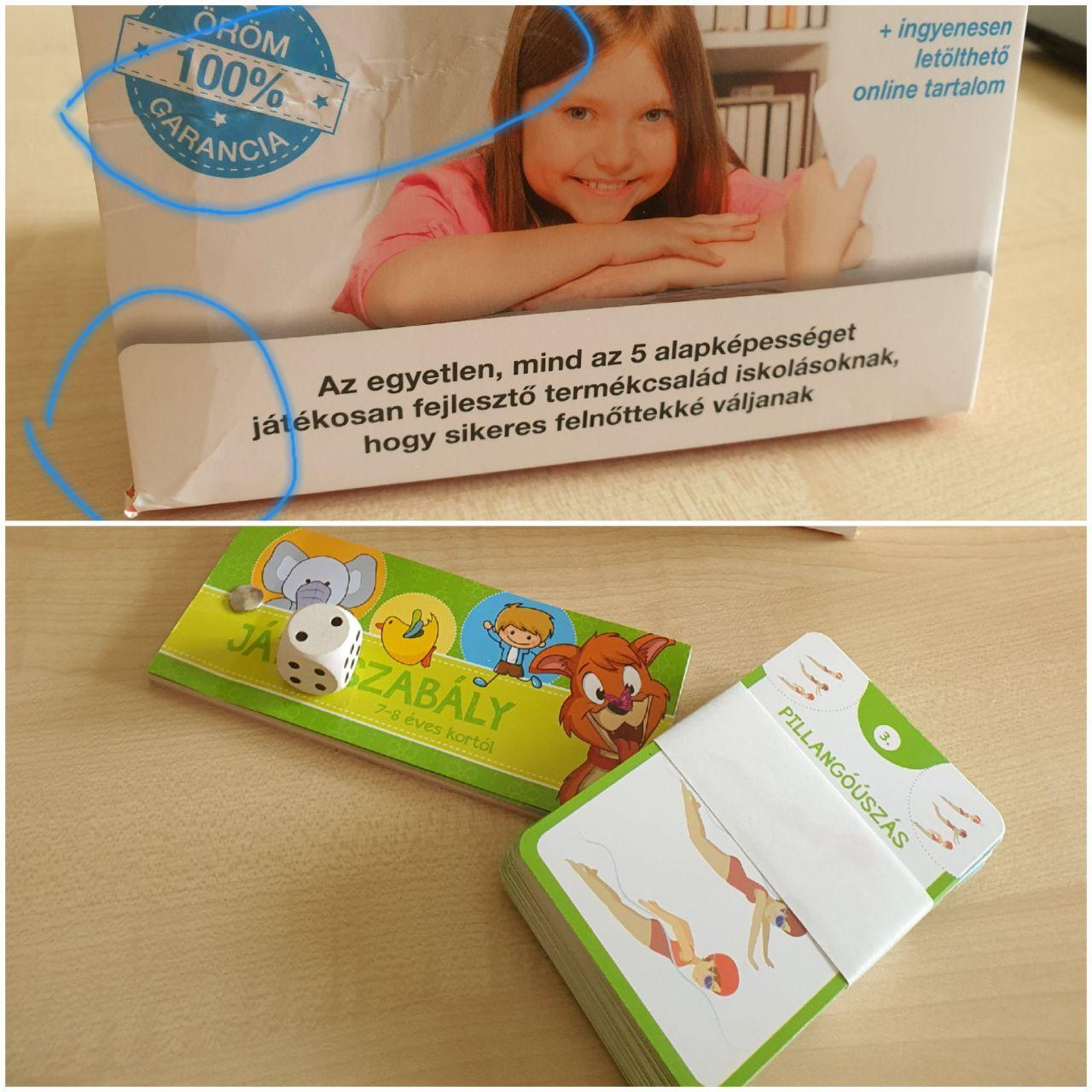 Szómágus – nyelvi képességfejlesztő csomag 7-8 éveseknek (szépséghibás)