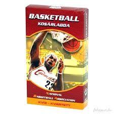 Basketball Kvartett Kártya