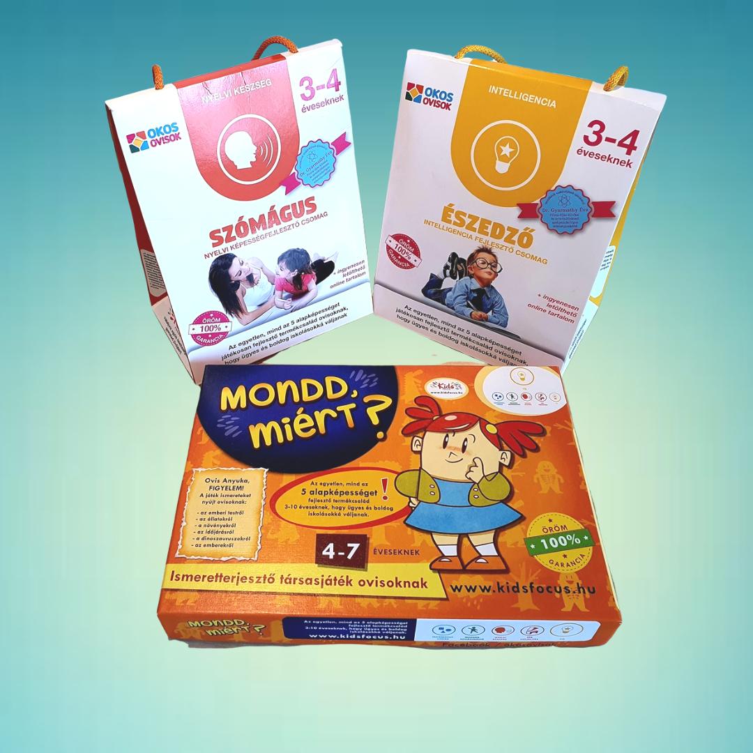 Fejlesztő csomag 3-4 éveseknek