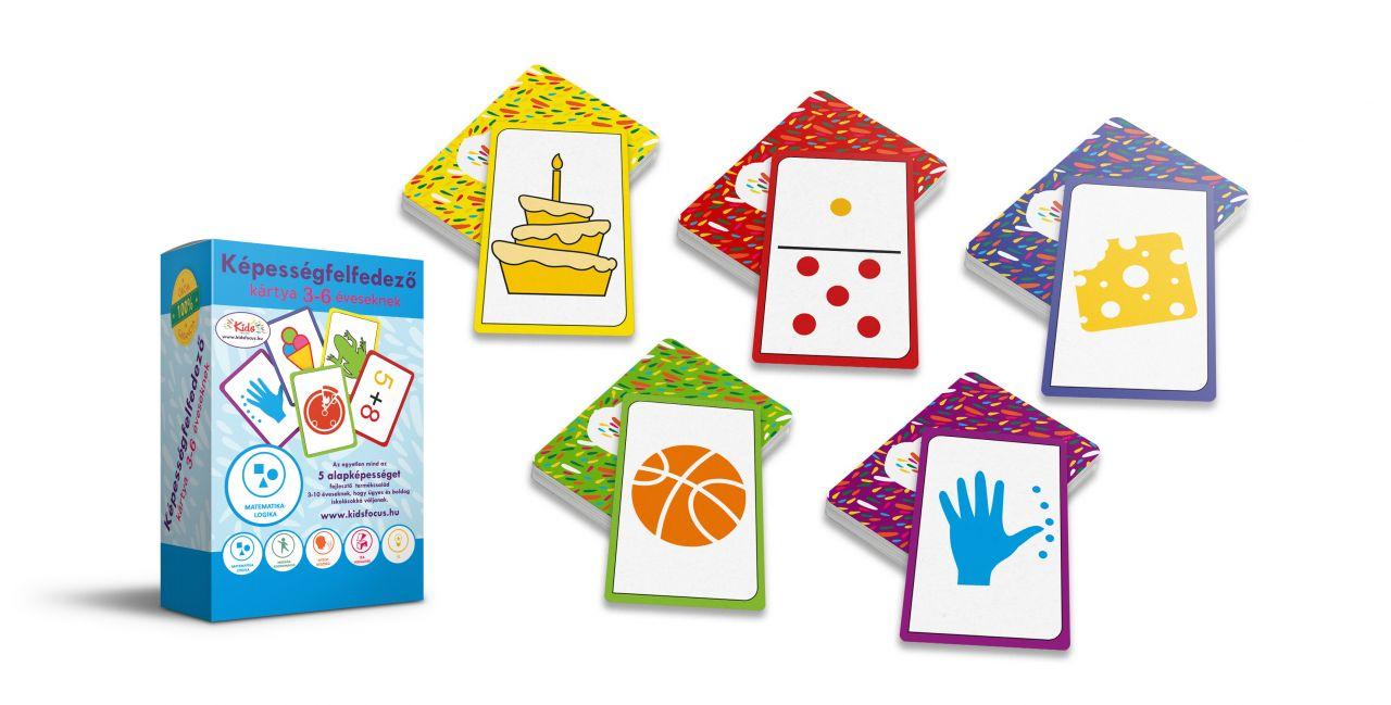 Letakarós társasjáték kiegészítő képességeket fejlesztő csomagban