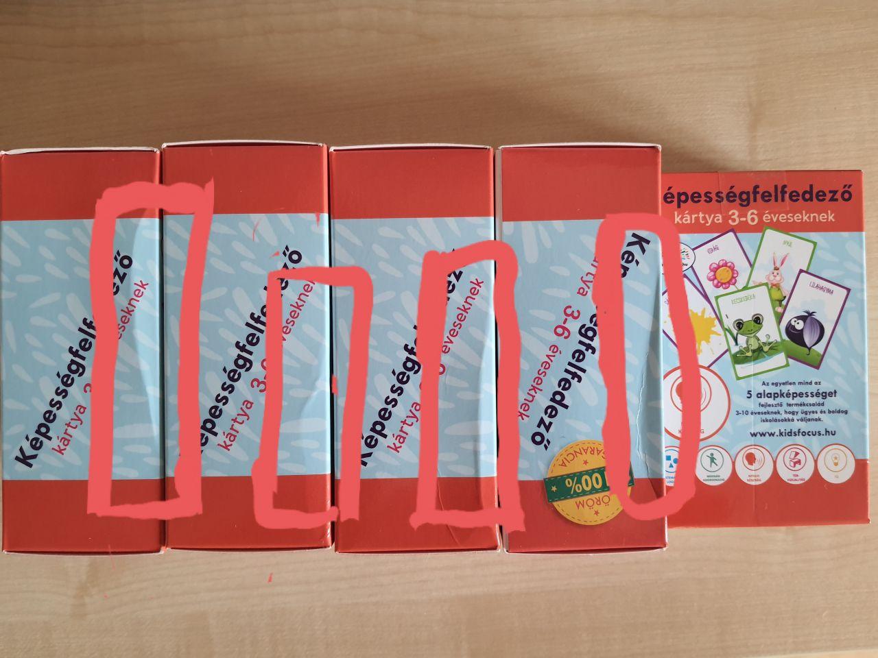 Képességfelfedező kártya 3-6 éveseknek BESZÉD (szépséghibás)