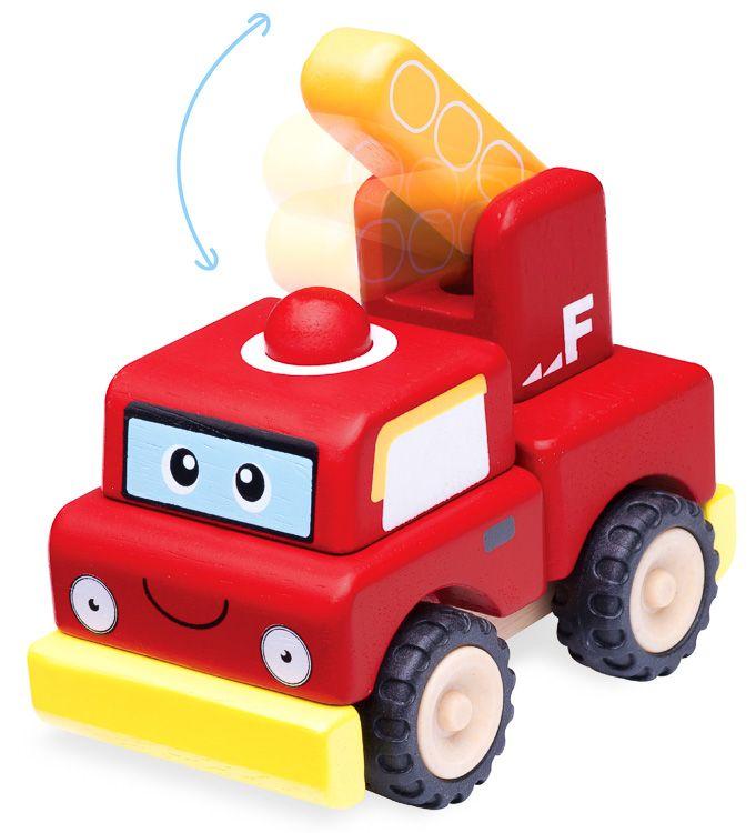 Szétszedhető játék tűzoltóautó (W)