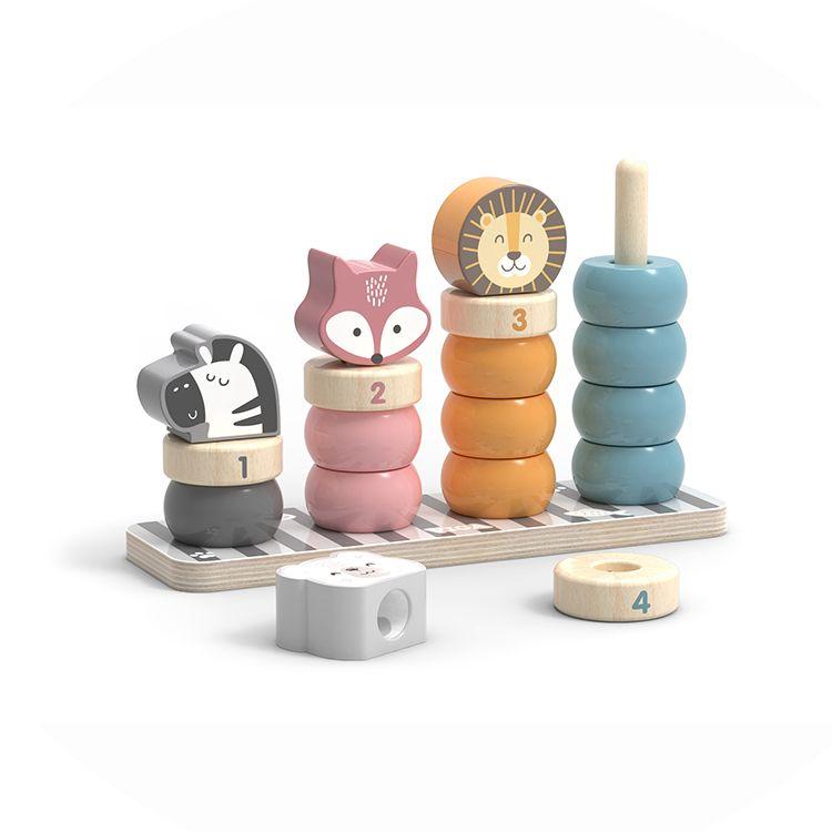 Logikai ferde-torony (állatfejes)