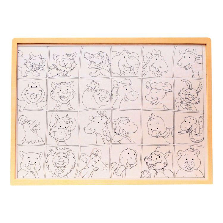 Puzzle arckereső (cicás)