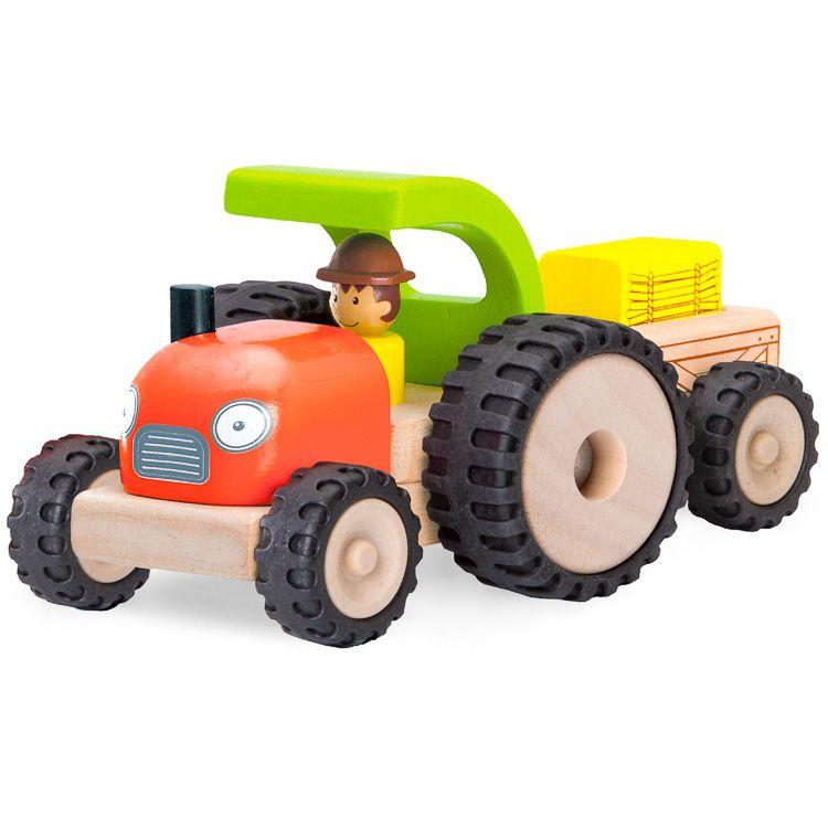 Játék traktor utánfutóval (W)
