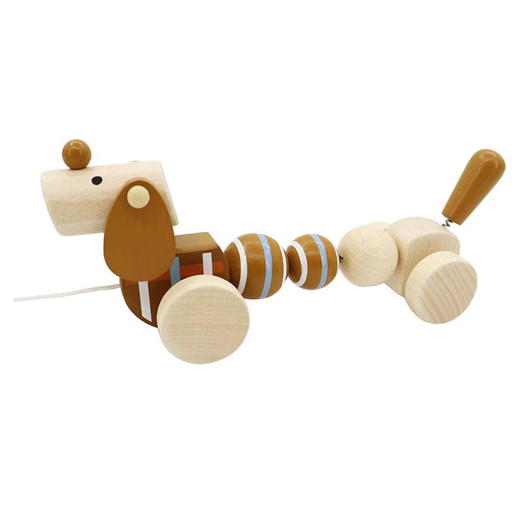 Húzogatós barna kutya